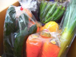 宅配の野菜