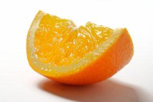 くし切りのオレンジ