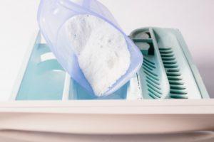 洗濯洗剤を入れる
