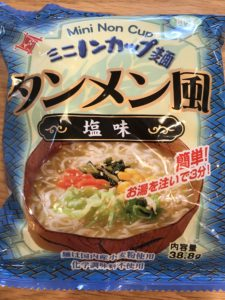 ミニノンカップ麺
