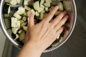 野菜のあく抜き